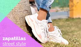 Zapatillas altas plataforma - sneakers lady